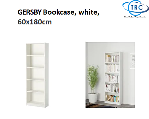 cheaper bcf4a 082b9 [Ready stock] Ikea GERSBY Bookcase, white, 60x180cm