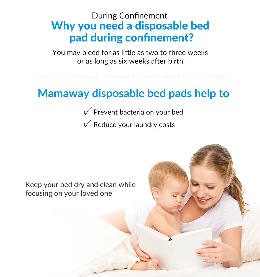 Mamaway Maternity Protective Bed Pad/Liner