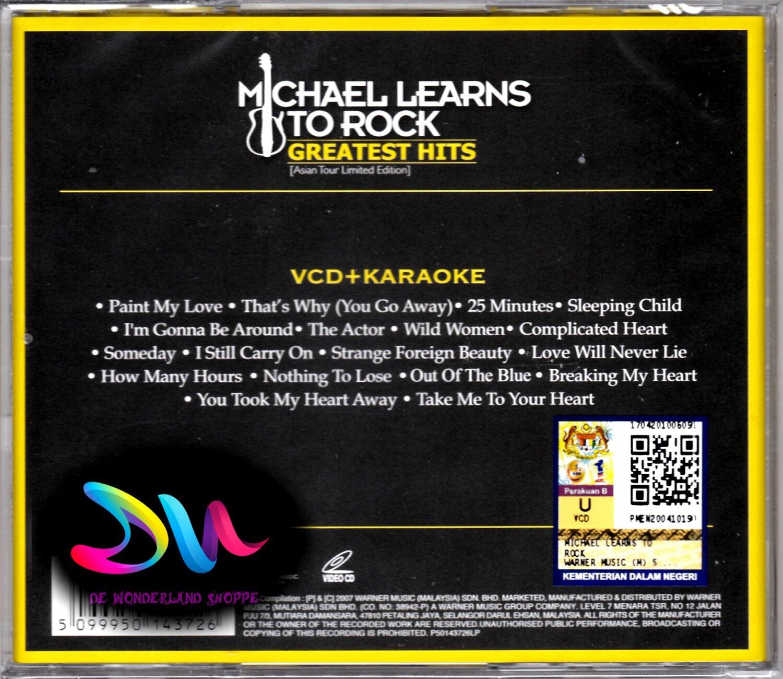 MICHAEL LEARNS TO ROCK GREATEST HITS - VCD MTV/ KARAOKE