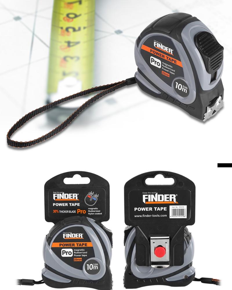 10m Retractable Measuring Tape Rule for Construction Carpentry Measurement