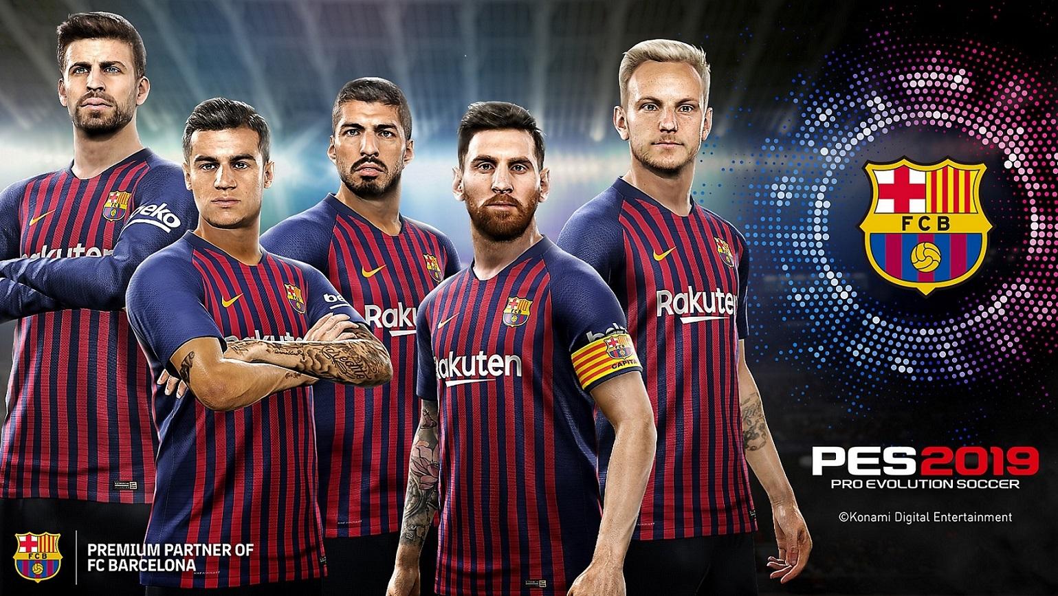 PS4 Pro Evolution Soccer 2019 Pes 2019
