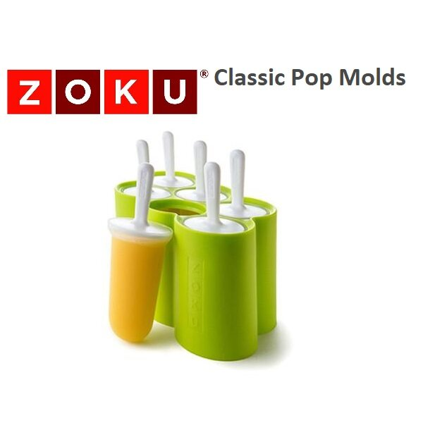 Zoku Classic Ice Pop Mold Ice Cream Mold Easy Fun BPA Free