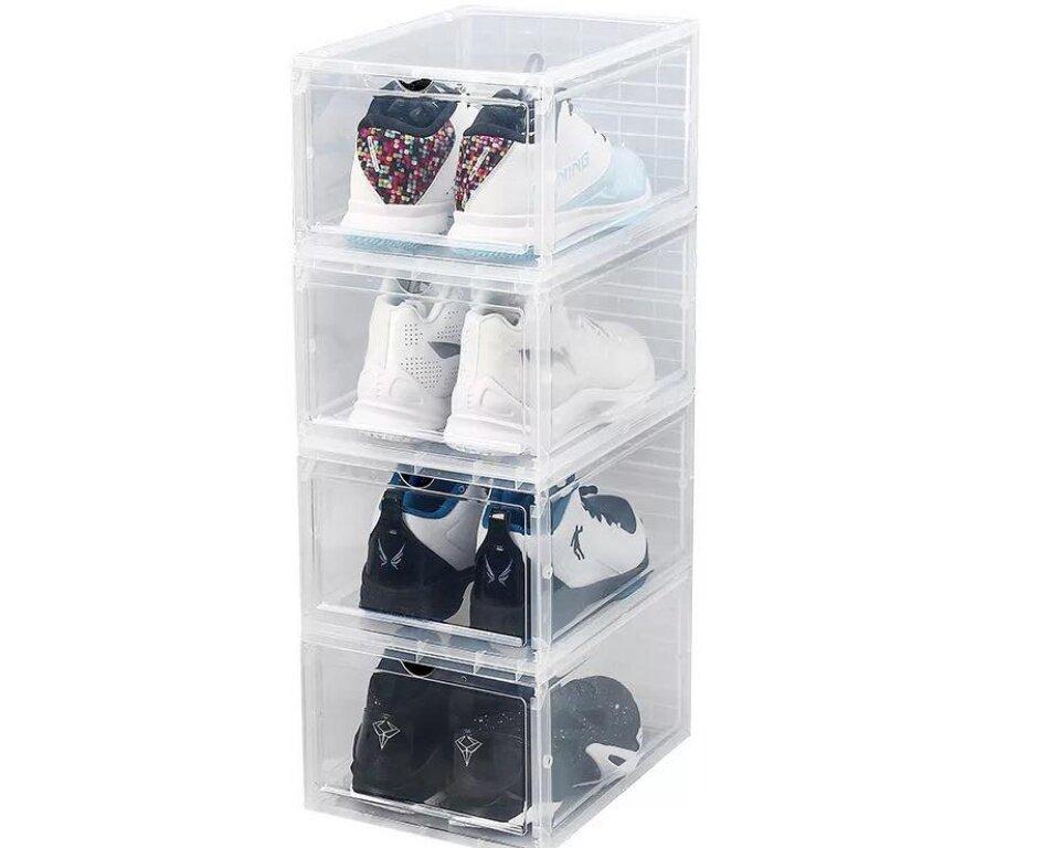 Buy Jomweshop Drop Front Shoe Box