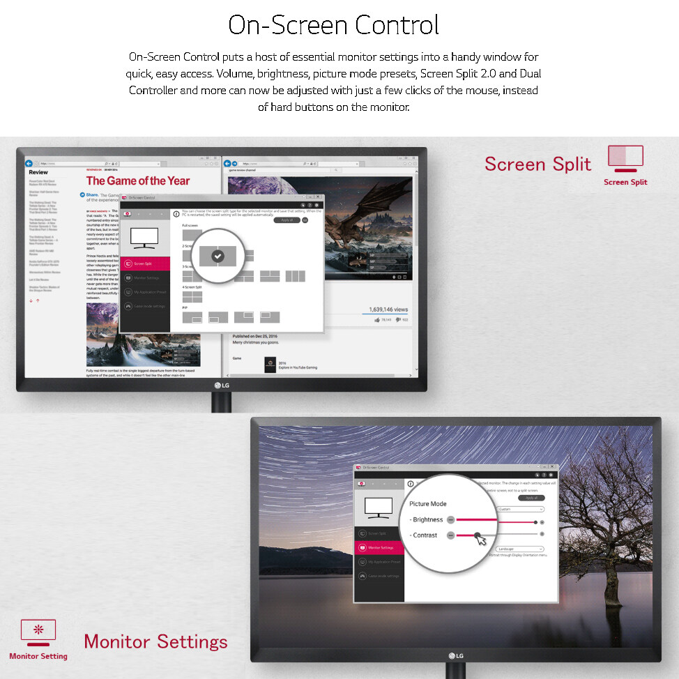 Lg On Screen Control Software