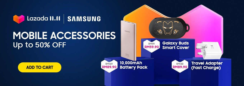 Samsung Galaxy Note10+ 双十一仅售 RM2099,旗下家电产品优惠券折扣高达 RM220 5