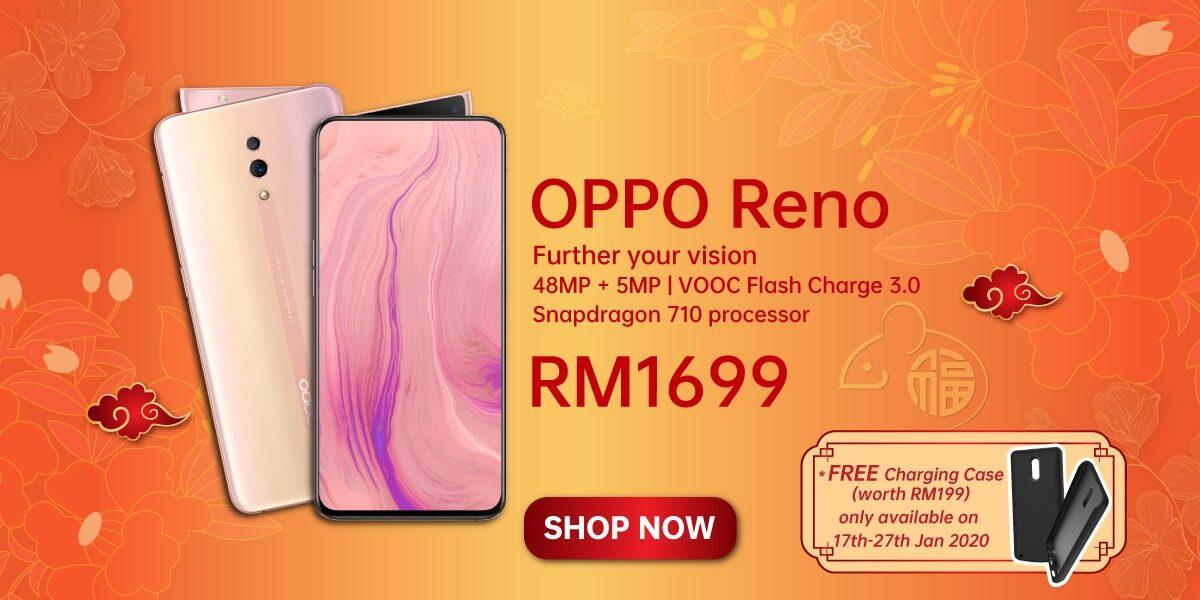 OPPO CNY Prosperity Deals 新年优惠,消费 RM1000 以上送礼盒,还能以优惠价入手 DJI OSMO Mobile 3 稳定器! 2