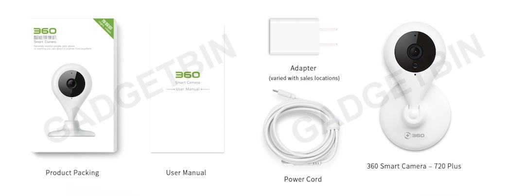 Qihoo 360 World Best Anti Hack 1080P WIFI IP Camera CCTV Camera D603 D606  720P 1080P Wireless Surveillance IP System with Two-Way Audio, Night  Vision,