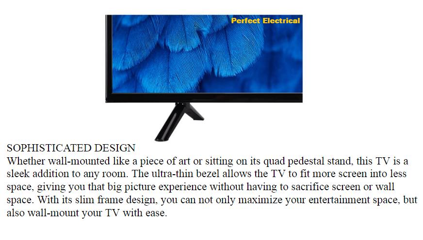 TCL 49 inch 49D3000 [2019 NEW] LED TV better than HISENSE / SKYWORTH /  SHARP / LG / SAMSUNG / PHILIPS / TOSHIBA / HAIER / PANASONIC