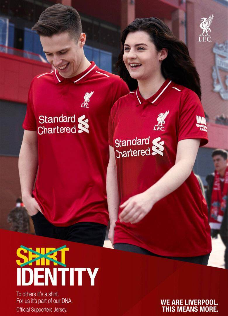 Official Liverpool FC Supporters Jersey 1819 (Home Mens)