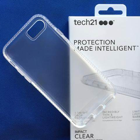 detailed look e2d65 a7b04 Tech21 Impact Clear Case for iPhone 7 Plus / iPhone 8 Plus