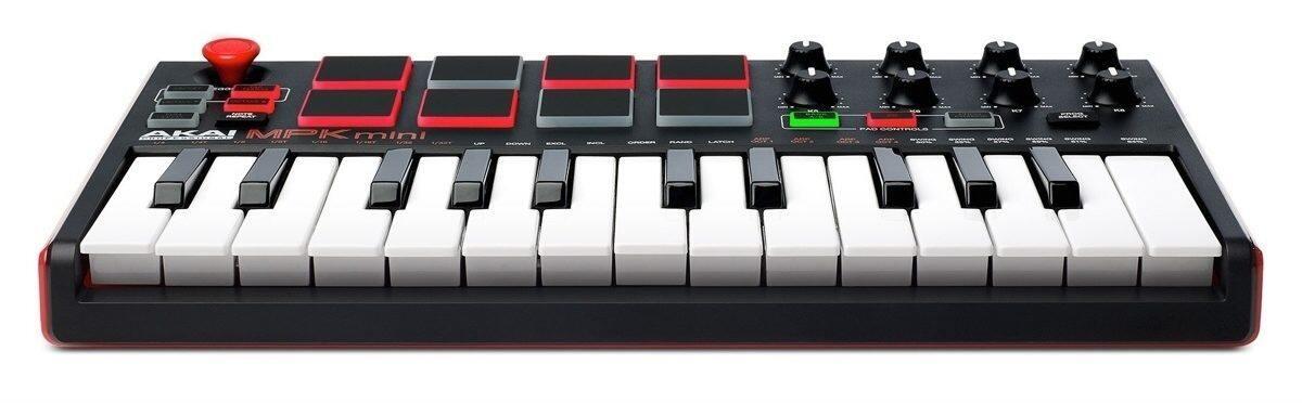 AKAI PROFESSIONAL MPK MINI MKII MIDI CONTROLLER (A63-MPKMINI2)