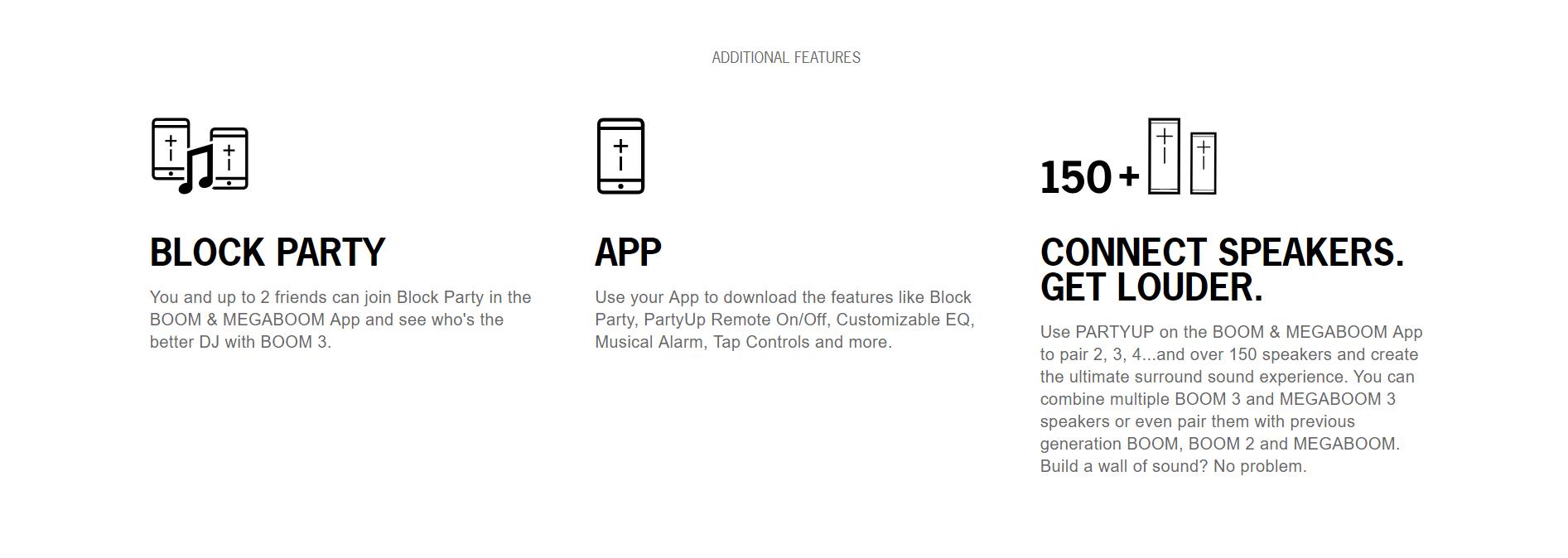 Ue Megaboom App