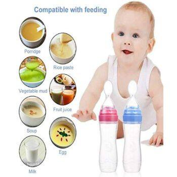 Milk//Food Storage Feeding Essentials Cereal Vacuum BPA-Free New 2 Baby Bottles