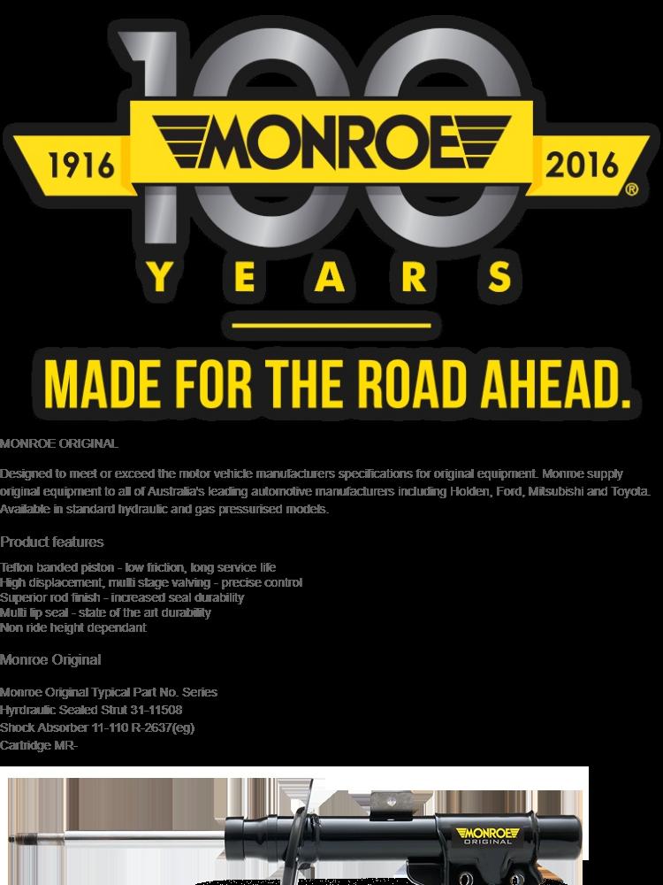 Perodua Viva / Myvi / Alza Monroe OESpectrum Rear Shock Absorber (1Pair )